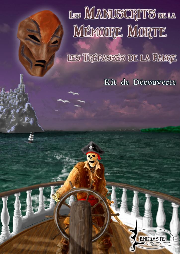 Couverture du kit de découverte de Les Manuscrits de la Mémoire Morte - Les Trépassés de la Fange